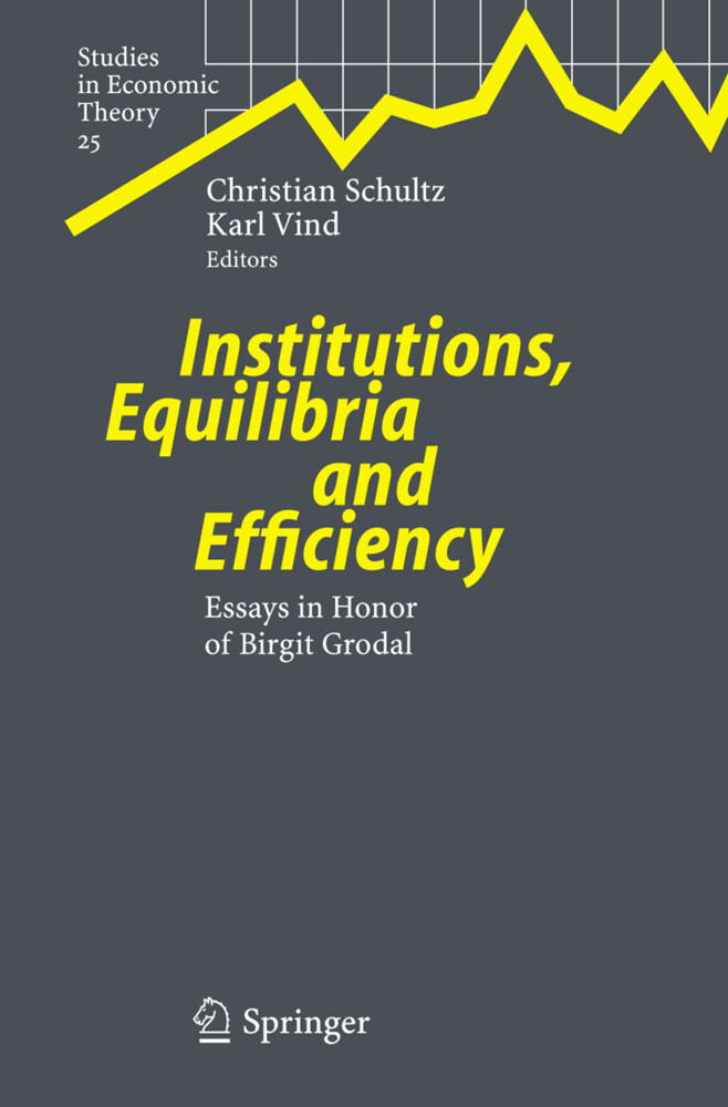 Institutions, Equilibria and Efficiency als Buch