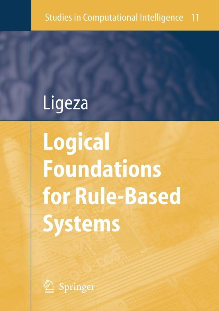 Logical Foundations for Rule-Based Systems als Buch