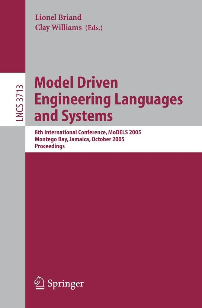 Model Driven Engineering Languages and Systems als Buch