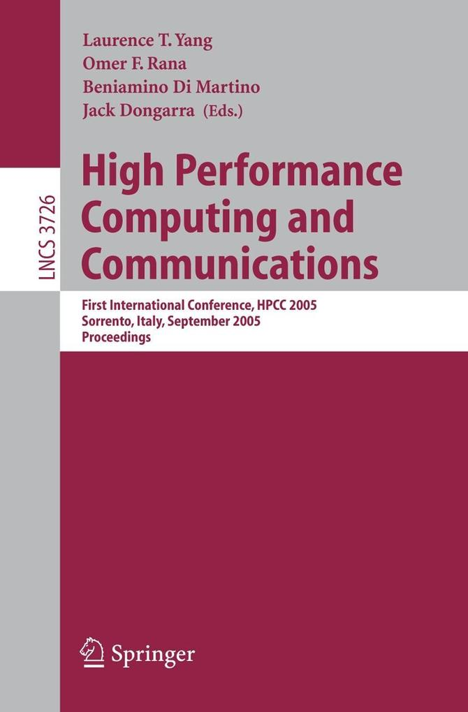 High Performance Computing and Communications als Buch