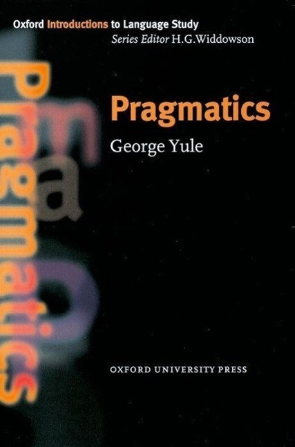 Pragmatics als Buch