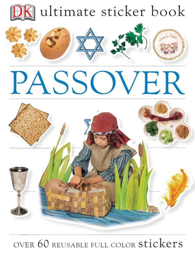 Passover [With Over 60 Reusable Stickers] als Taschenbuch