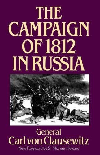 The Campaign of 1812 in Russia als Taschenbuch