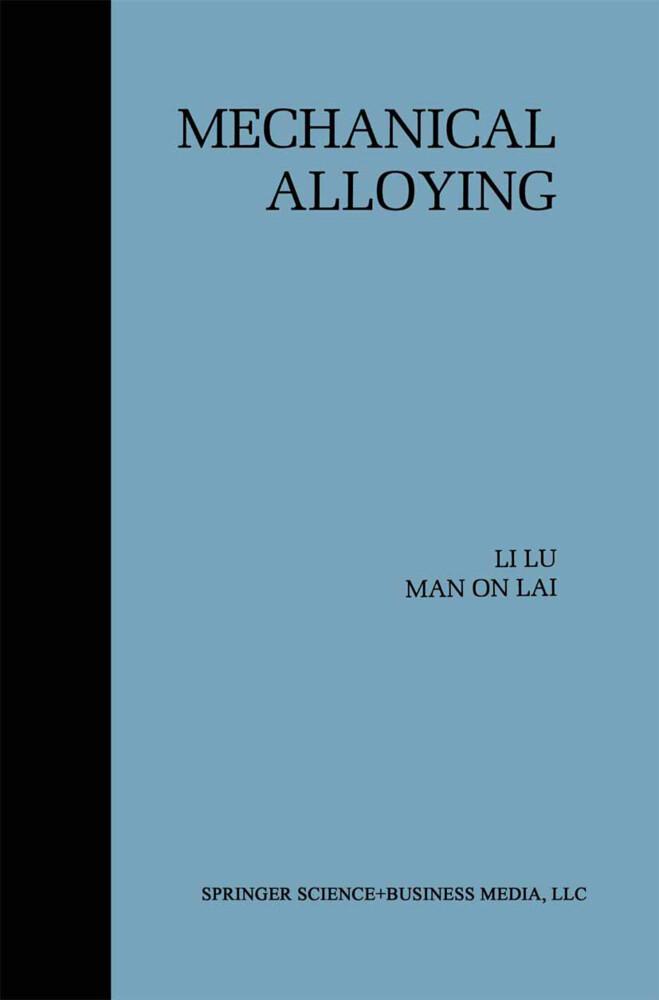 Mechanical Alloying als Buch