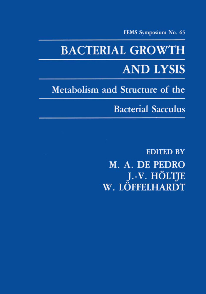 Bacterial Growth and Lysis als Buch