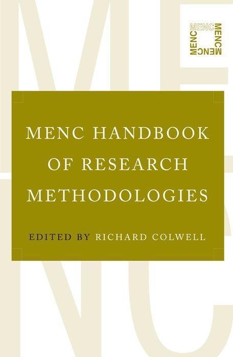 Menc Handbook of Research Methodologies als Taschenbuch