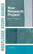 Your Research Project: How to Manage It