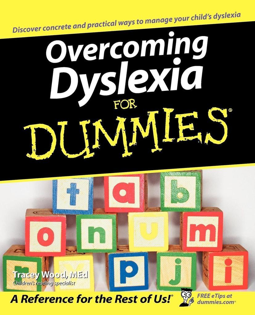 Overcoming Dyslexia for Dummies als Taschenbuch