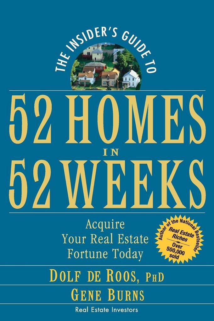 The Insider's Guide to 52 Homes in 52 Weeks als Taschenbuch