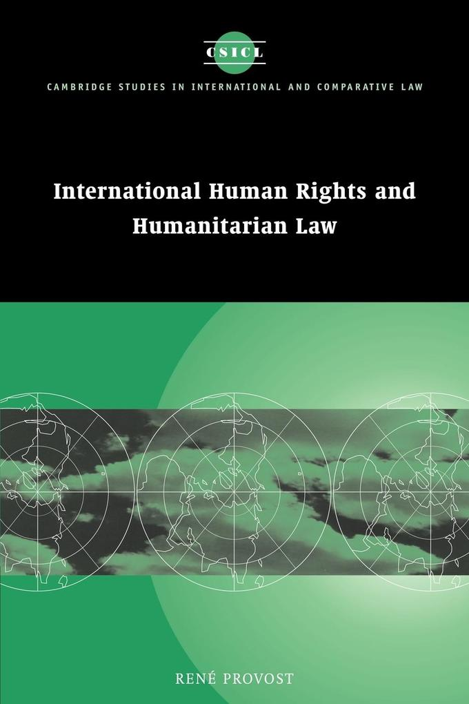 International Human Rights and Humanitarian Law als Buch
