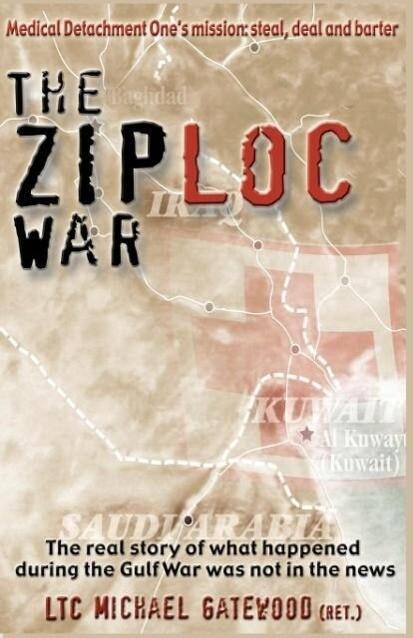 The Ziploc War als Taschenbuch