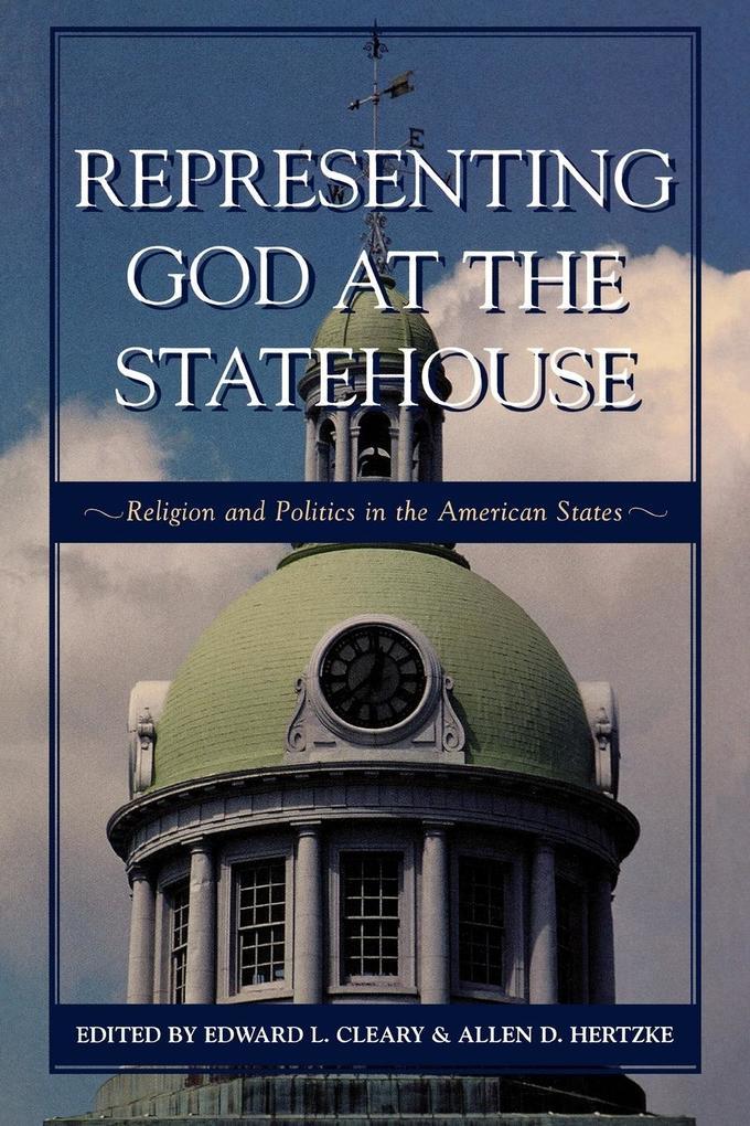 Representing God at the Statehouse als Taschenbuch