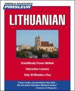 Pimsleur Lithuanian Level 1 CD: Learn to Speak and Understand Lithuanian with Pimsleur Language Programs als Hörbuch