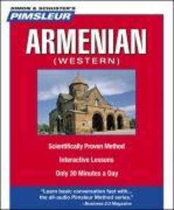 Pimsleur Armenian (Western) Level 1 CD: Learn to Speak and Understand Western Armenian with Pimsleur Language Programs als Hörbuch