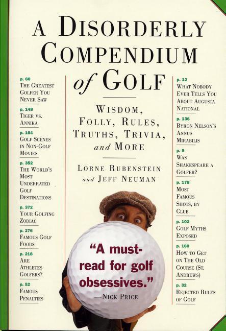 A Disorderly Compendium of Golf als Taschenbuch