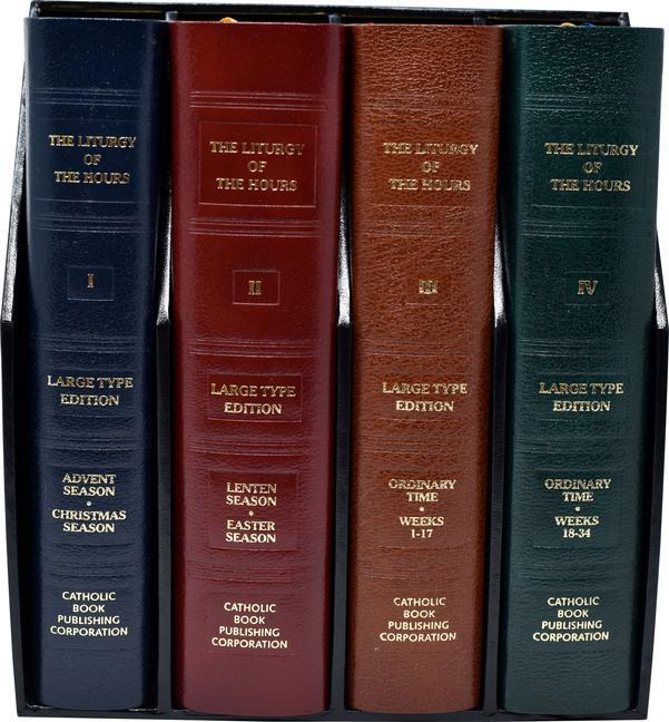 Liturgy of the Hours (Set of 4) Large Print als Taschenbuch