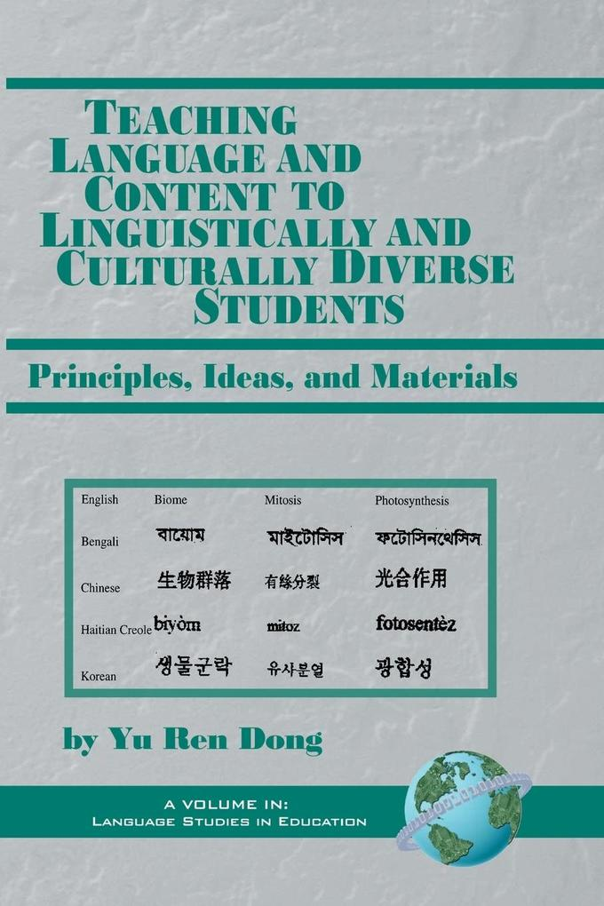 Teaching Language and Content to Linguistically and Culturally Diverse Students als Taschenbuch