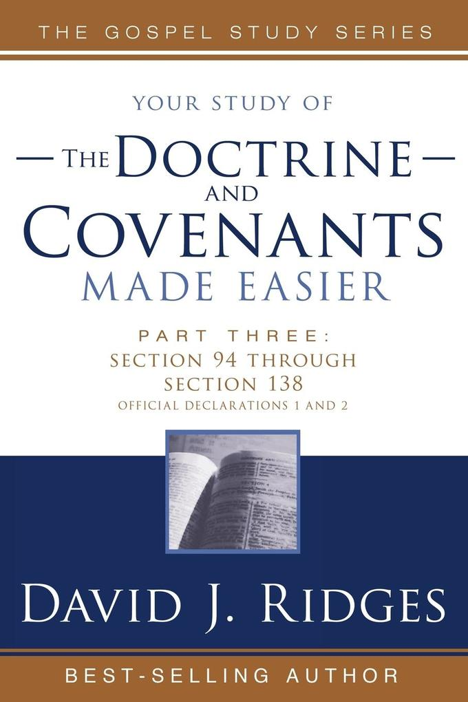 Doctrine & Covenants Made Easier #3 als Taschenbuch