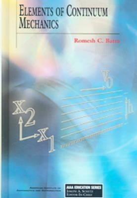 Elements of Continuum Mechanics als Buch