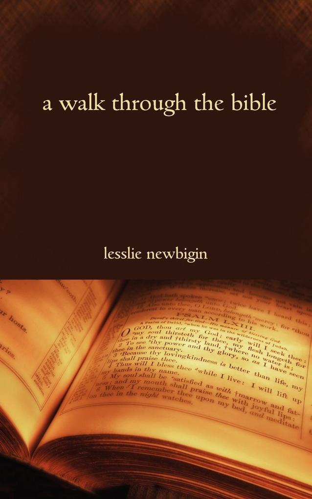 A Walk Through the Bible als Taschenbuch