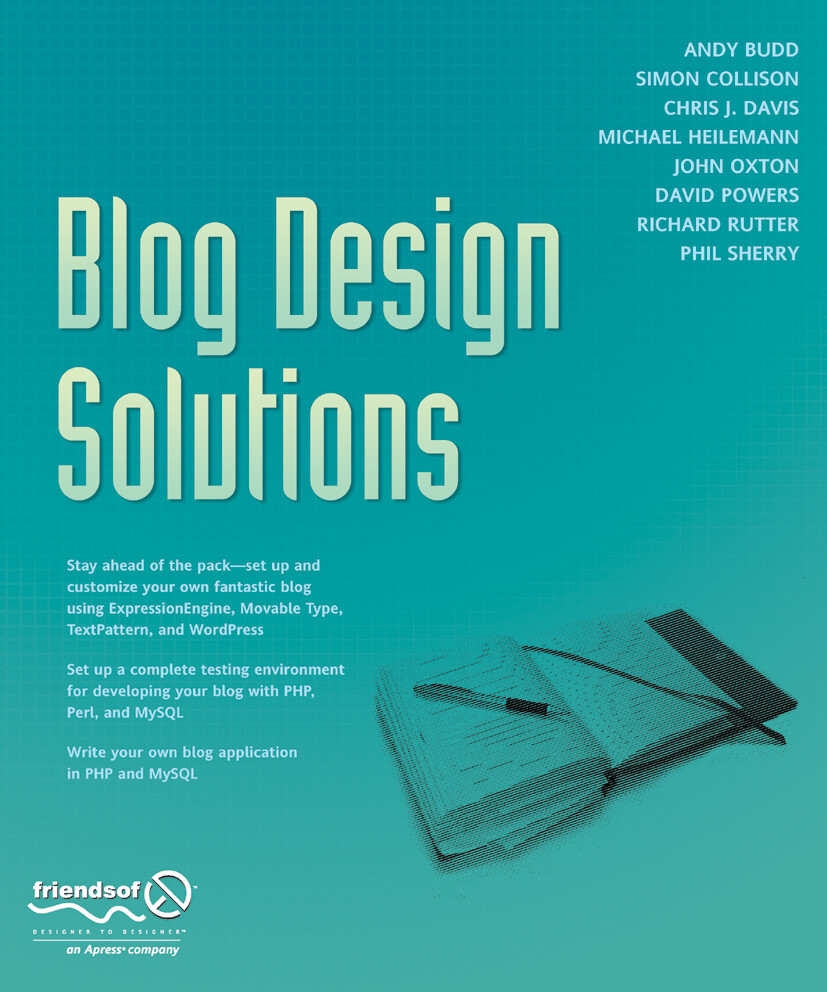 Blog Design Solutions als Buch