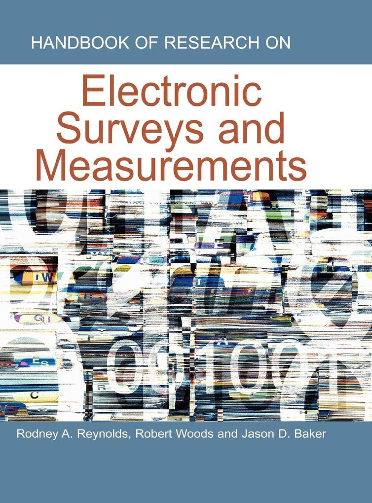 Handbook of Research on Electronic Surveys and Measurements als Buch