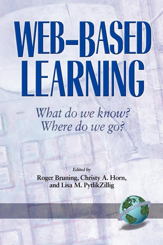 Web-Based Learning als Taschenbuch
