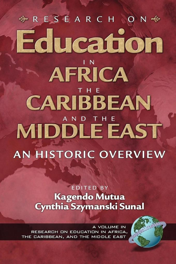 Research on Education in Africa, the Caribbean, and the Middle East (PB) als Taschenbuch