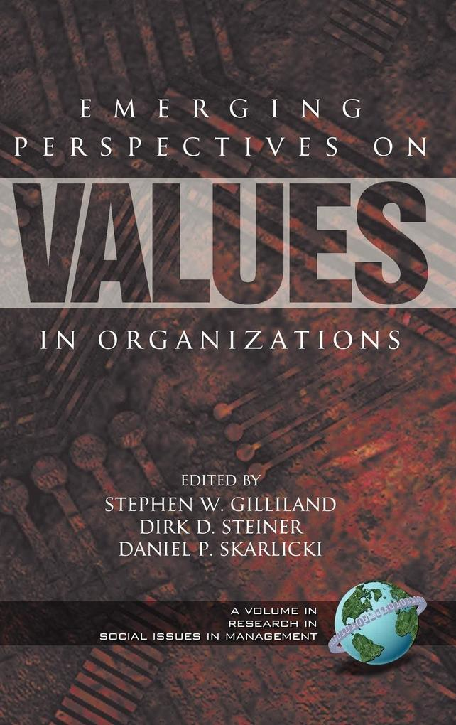 Emerging Perspectives on Values in Organizations (HC) als Buch