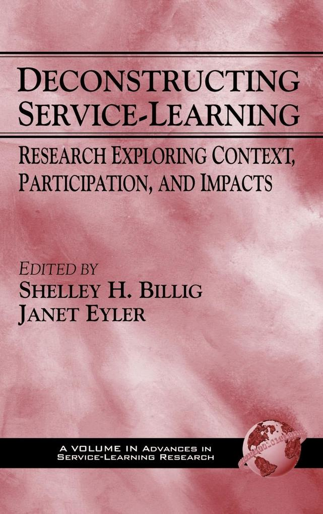 Deconstructing Service-Learning als Buch