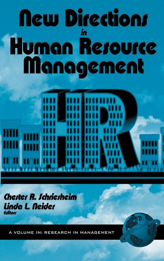 New Directions in Human Resource Management (Hc) als Buch