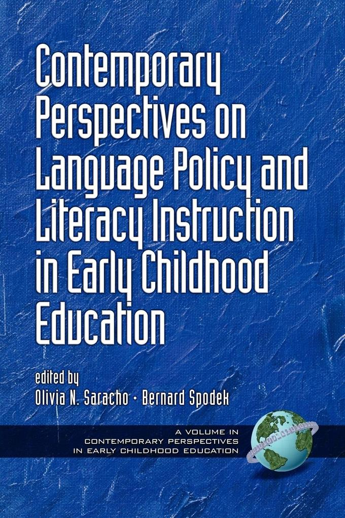 Contemporary Perspectives on Language Policy and Literacy Instruction in Early Childhood Education (PB) als Taschenbuch