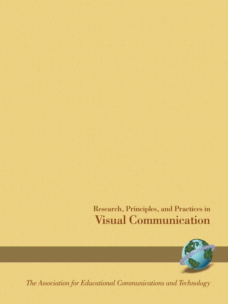 Research Principles and Practices in Visual Communications (PB) als Taschenbuch
