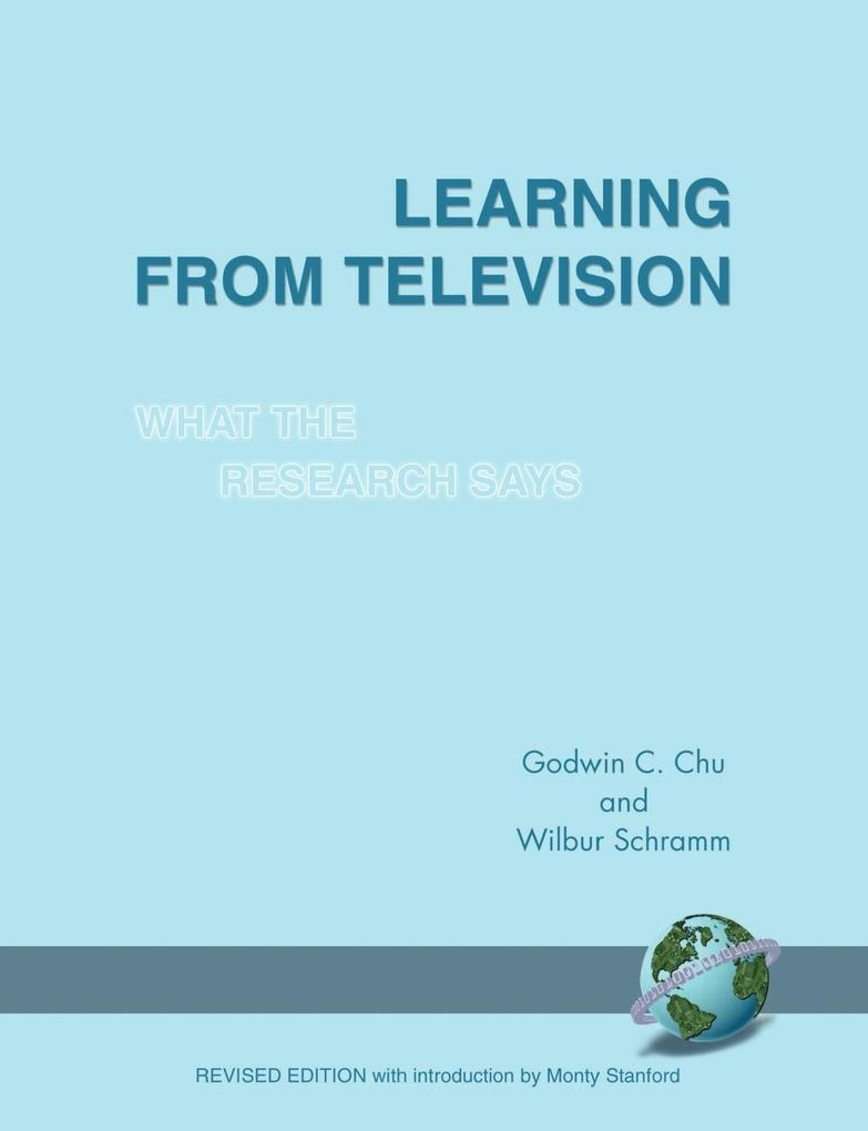 Learning from Television als Taschenbuch