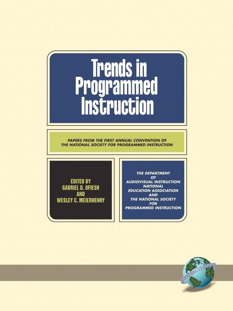 Trends in Programmed Instruction (PB) als Taschenbuch
