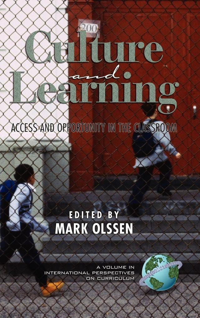 Culture and Learning als Buch