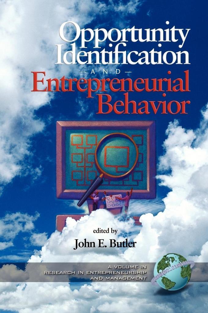 Opportunity Identification and Entrepreneurial Behavior (PB) als Taschenbuch