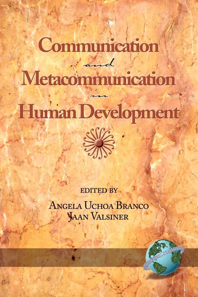 Communication and Metacommunication in Human Development (PB) als Buch