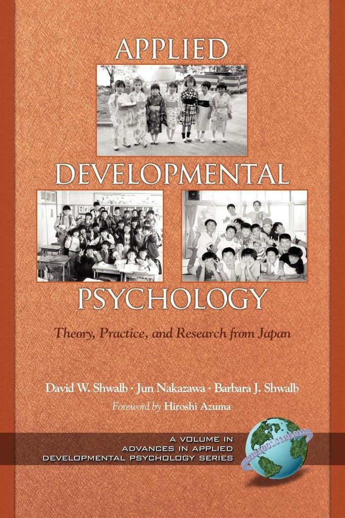 Applied Developmental Psychology als Taschenbuch