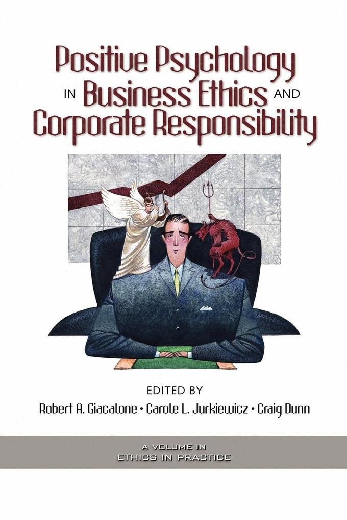 Positive Psychology in Business Ethics and Corporate Responsibility (PB) als Taschenbuch