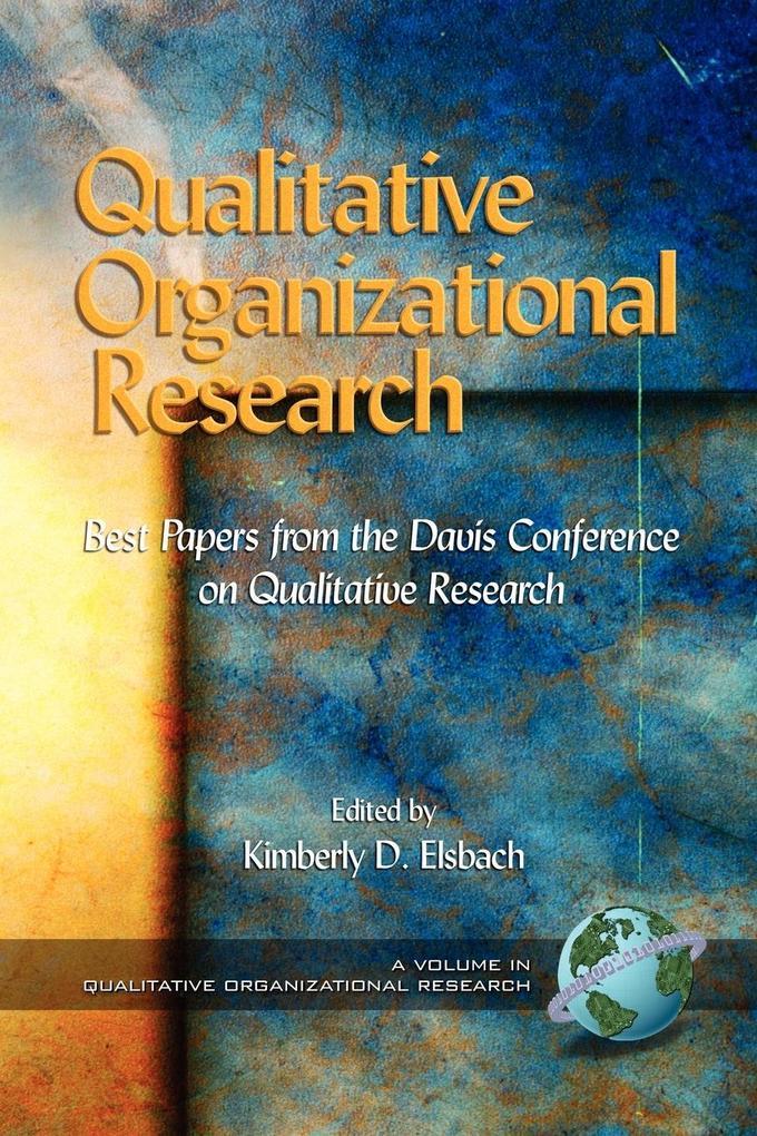 Qualitative Organizational Research als Taschenbuch