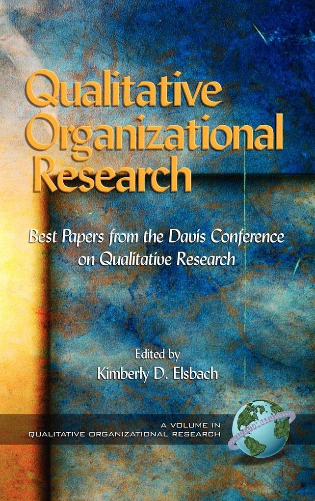 Qualitative Organizational Research als Buch