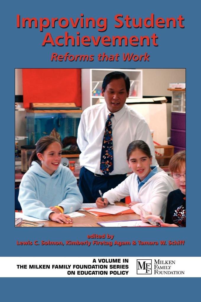 Improving Student Achievement als Taschenbuch