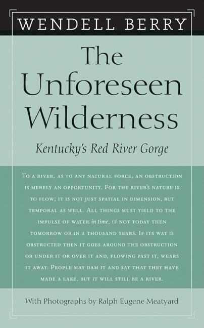The Unforeseen Wilderness als Taschenbuch