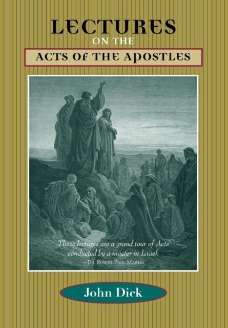 Lectures on the Acts of the Apostles als Taschenbuch