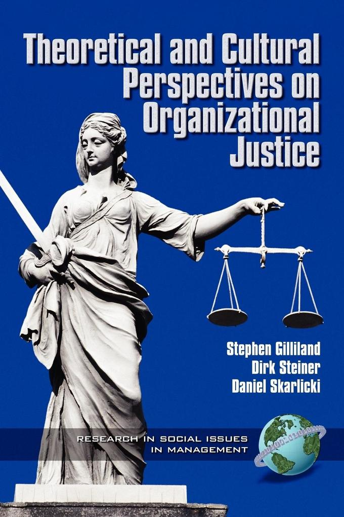 Theoretical and Cultural Perspectives on Organizational Justice (PB) als Taschenbuch
