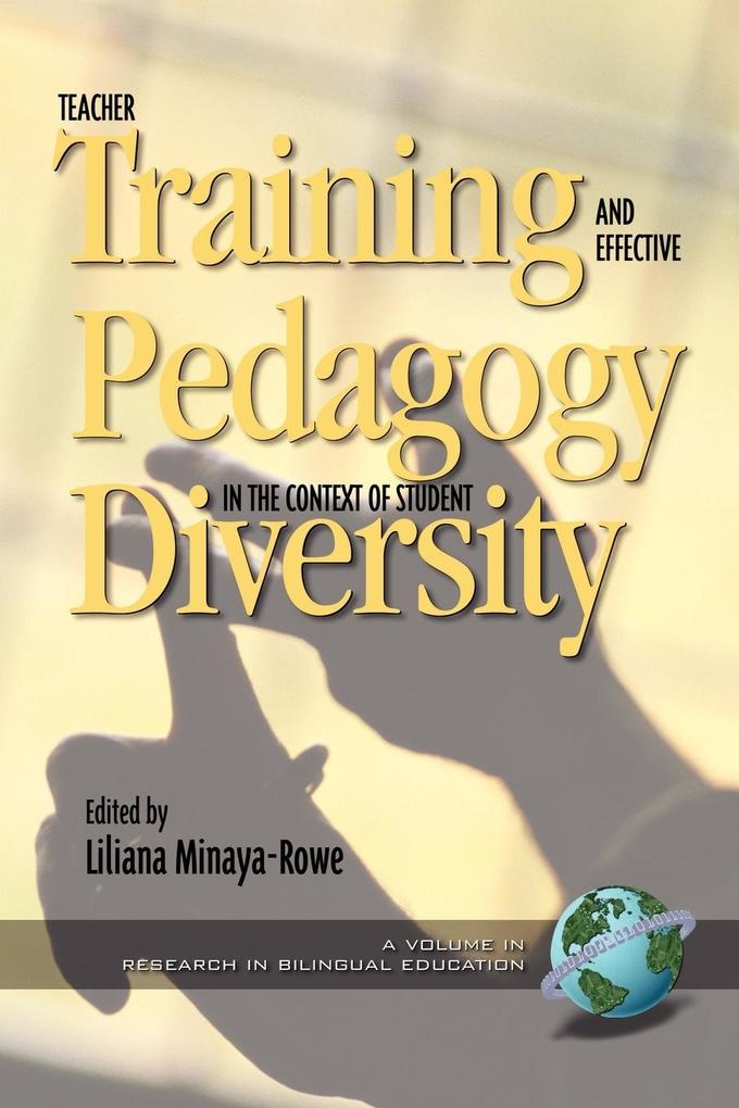 Teacher Training and Effective Pedagogy in the Context of Student Diversity (PB) als Taschenbuch