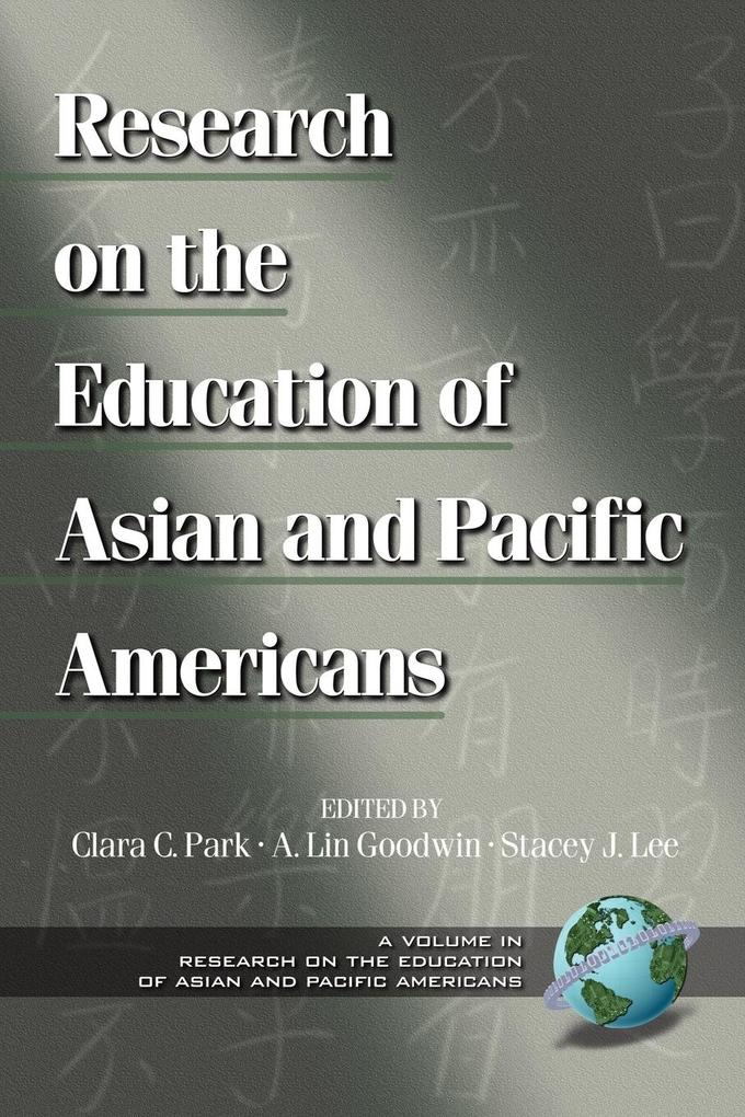 Research on the Education of Asian and Pacific Americans (PB) als Taschenbuch