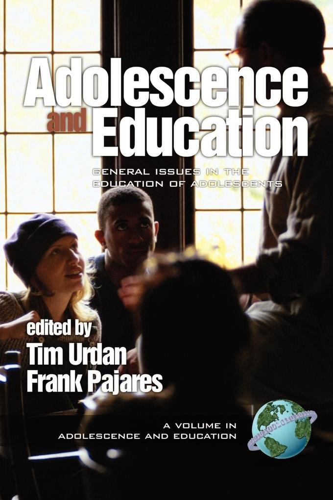Adolescence & Education als Taschenbuch