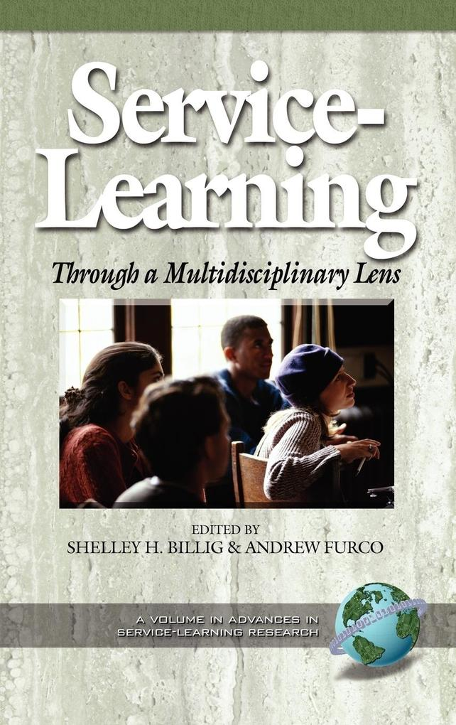 Service-Learning Through a Multidisciplinary Lens (Hc) als Buch